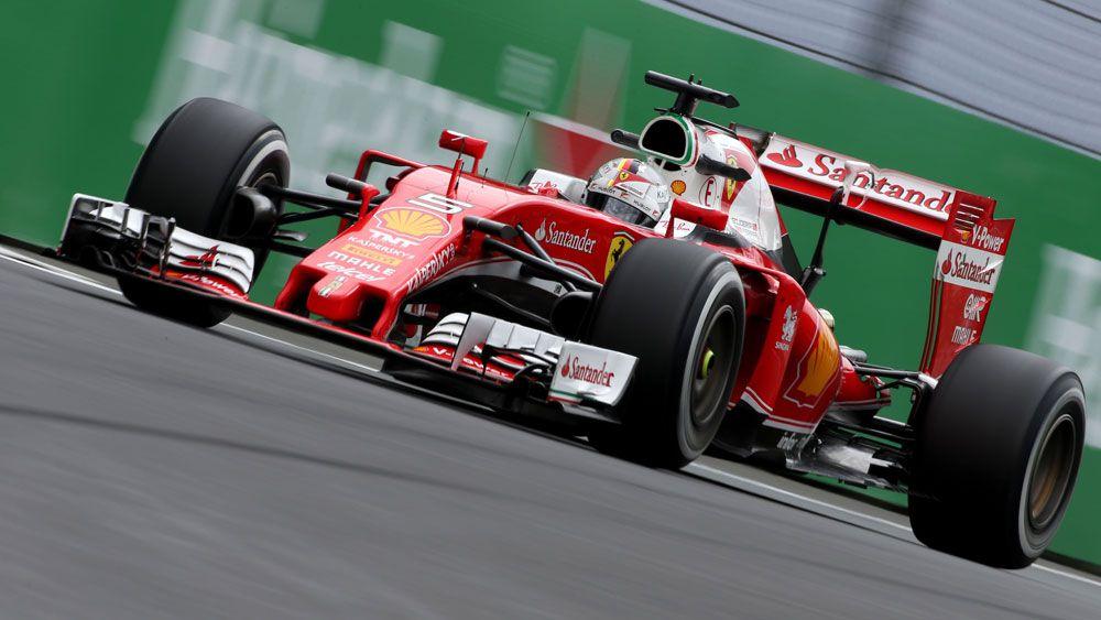 Ferrari's Sebastien Vettel.(AAP)