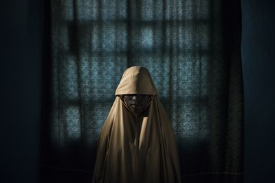 Boko Haram Strapped Suicide Bombs to Them. Somehow These Teenage Girls Survived. Aisha, age 14.