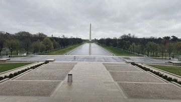 Some of America's most famous historical events have been held from this spot, but today it lies empty.