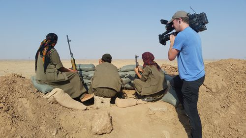 Risk and reward behind the front lines of the Islamic State