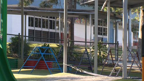 Middle Park State School operated with a skeleton staff today.
