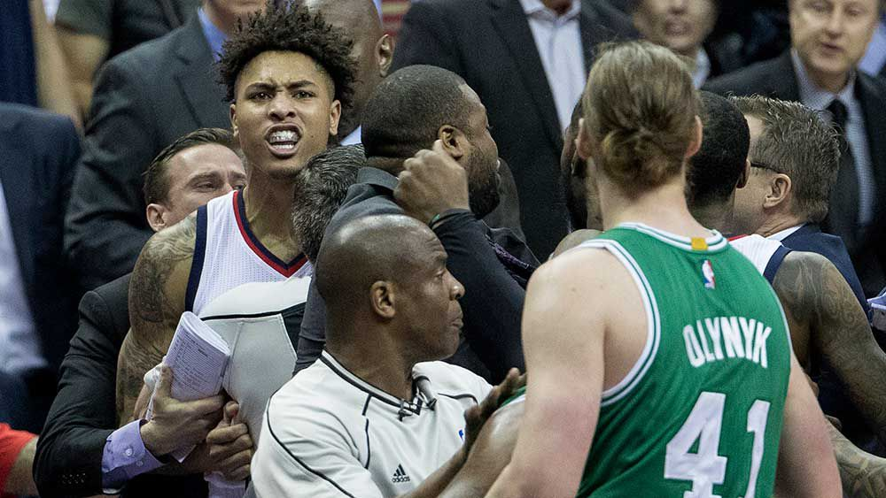 NBA: Celtics, Wizards turn playoff into all-out war