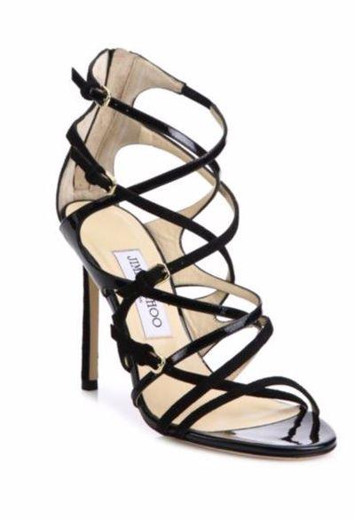 "Jimmy Choo patent heels $1271.85 at <a href=""http://www.saksfifthavenue.com/main/ProductDetail.jsp?FOLDER%3C%3Efolder_id=2534374306624247&amp;PRODUCT%3C%3Eprd_id=845524447006268&amp;R=889963686243&amp;P_name=Jimmy+Choo&amp;N=4294912277+306624247&amp;ASSORTMENT%3C%3East_id=1408474395222441&amp;bmUID=lxPy9li"" target=""_blank"">Saks</a><br>"
