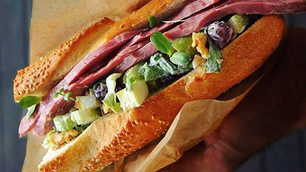 Silverwood Fine Foods lamb ham sub recipe