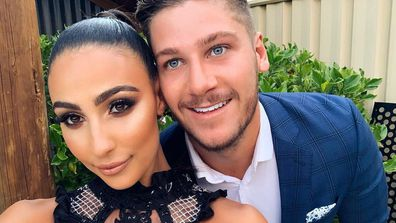 Tayla Damir and Dom Thomas from Love Island Australia