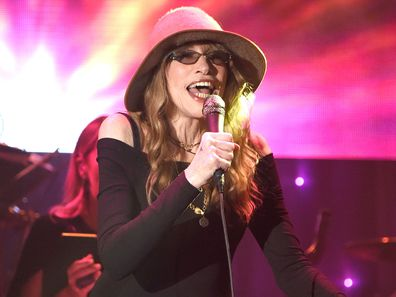 Carly Simon performing in 2016
