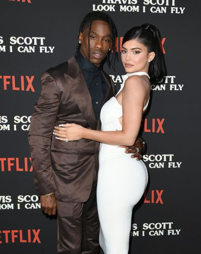 Travis Scott, Kylie Jenner, premiere, Netflix, Travis Scott: Look Mom I Can Fly