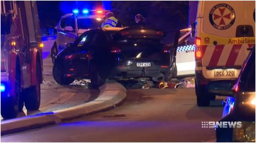 A man has been charged over a head-on crash in Sydney's Northern Suburbs on Friday that left two police officers seriously injured.