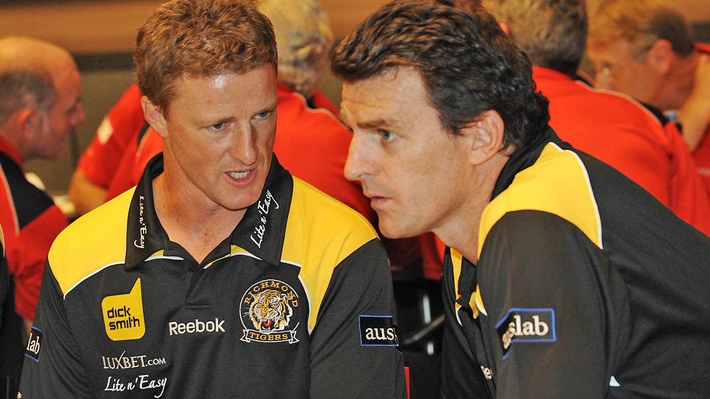 Richmond coach Damien Hardwick in 2009