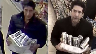 Abdulah Husseini shot to viral fame in moments over his striking resemblance to 'Friends' star David Schwimmer during an alleged thievery.