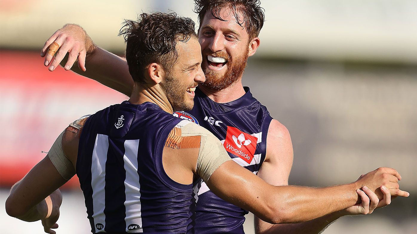 James Aish shines in Fremantle debut in dominant pre-season win over undermanned Carlton
