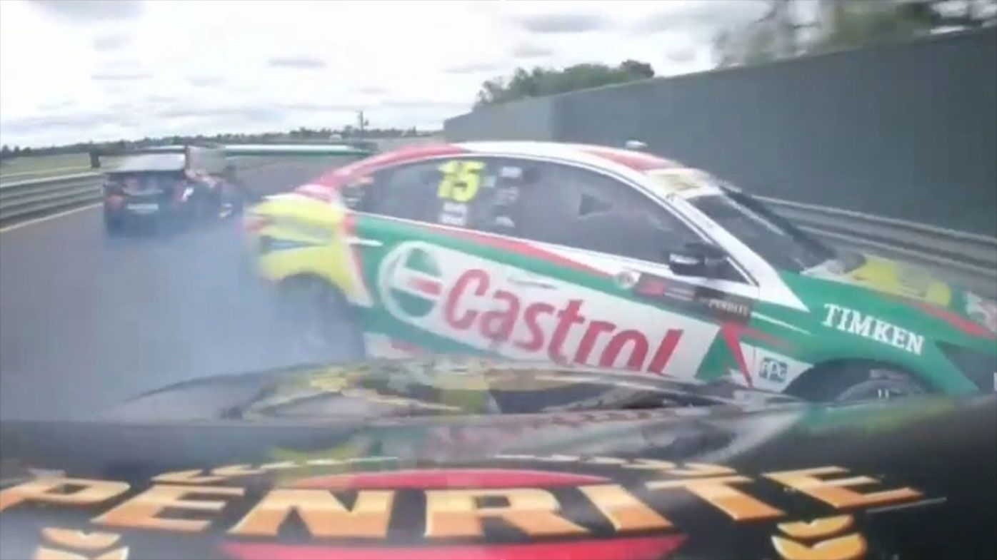 Sandown 500 collision