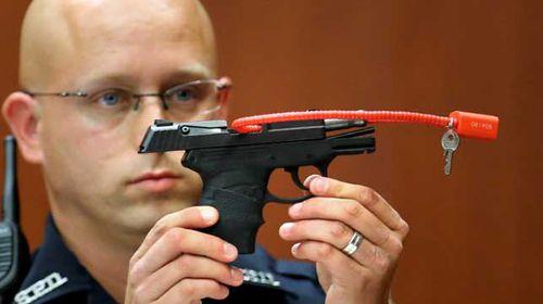 Zimmerman gun auction halted in US