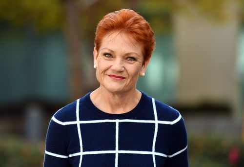Pauline Hanson is battling internal troubles at One Nation. Picture: AAP