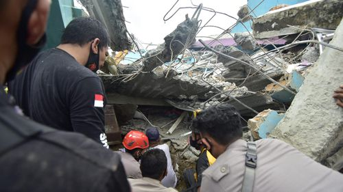 At least 42 killed as earthquake shakes Indonesian island