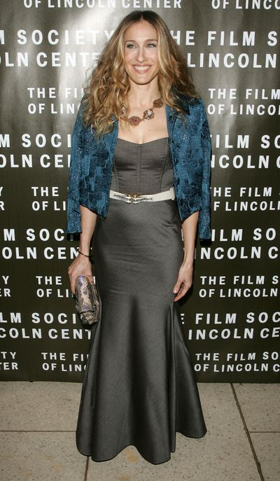 Sarah Jessica Parker at the Film Society of Lincoln Center's 34th annual gala tribute to Diane Keaton, 2007