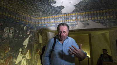 The scans were spurred by a study by renowned British archaeologist Nicholas Reeves that said Nefertiti's lost tomb may be hidden in an adjoining chamber.