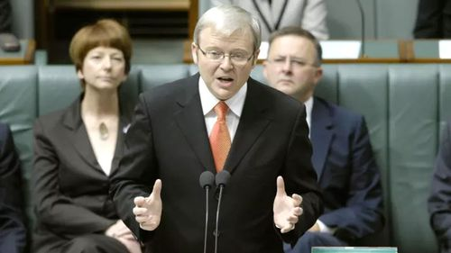 Mr Dutton boycotted Kevin Rudd's historic apology to the Stolen Generations.