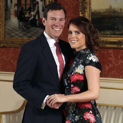 Prince Eugenie engagement portrait