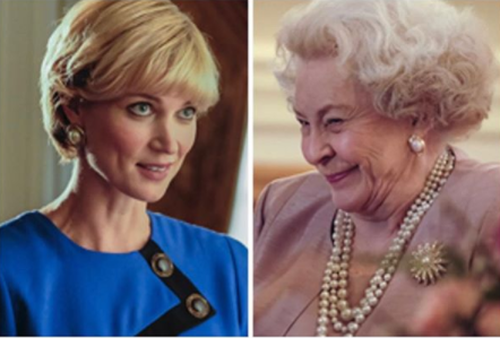 Actress Bonnie Soper posted this photo to Instagram after being cast as Princess Diana in an upcoming film. (Instagram)
