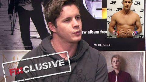 EXCLUSIVE! Johnny Ruffo: 'I'd go naked for art'