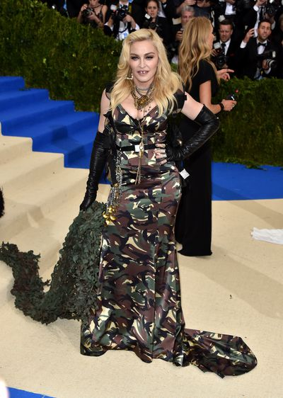 Madonna in Moschinoat the 2017 Met Gala,Rei Kawakubo/Comme des Garcons: Art Of The In-Between
