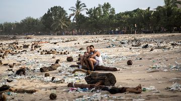 'Nowhere is immune' from evil of plastic pollution
