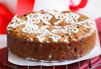 Great-grandma's Christmas cake