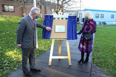 Camilla and Charles vaccination centre