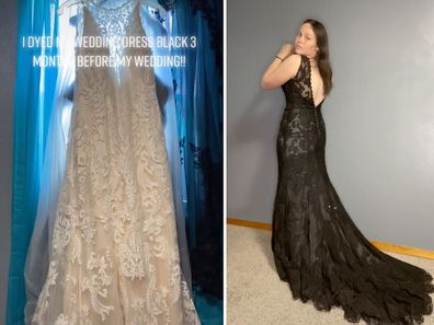 People call bride-to-be's 'dramatic' change to wedding dress an improvement