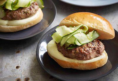 Miso beef burgers