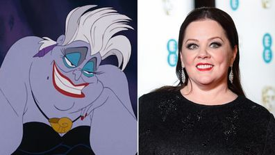Melissa McCarthy as Ursula in The Little Mermaid