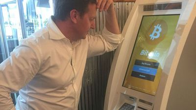So there is now a Bitcoin ATM machine?