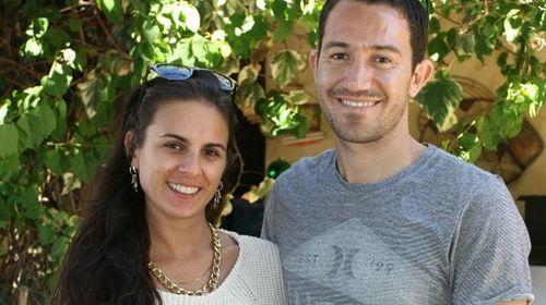 Dean Lucas and his girlfriend Josie Cox. (Facebook)