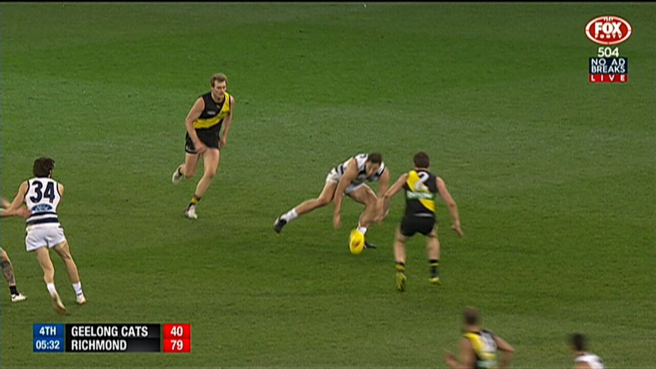 Crowd go berserk for Cotchin