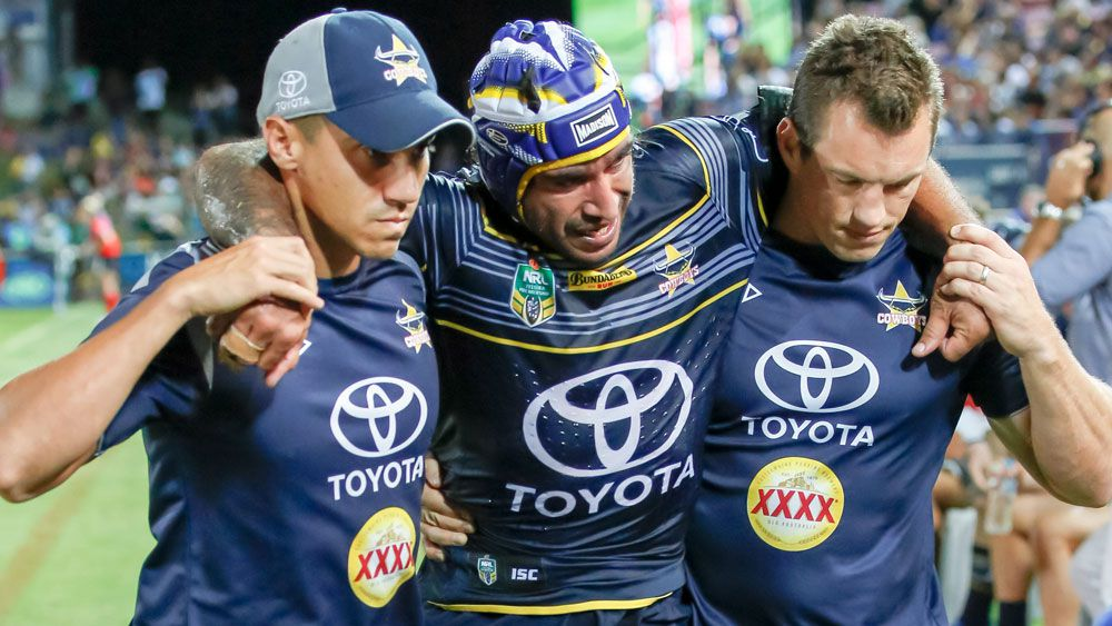 North Queensland's Johnathan Thurston adds to Cowboys' injury concerns