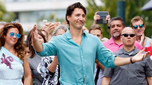 Trudeau is  the 23rd Prime Minister of Canada. (Getty)