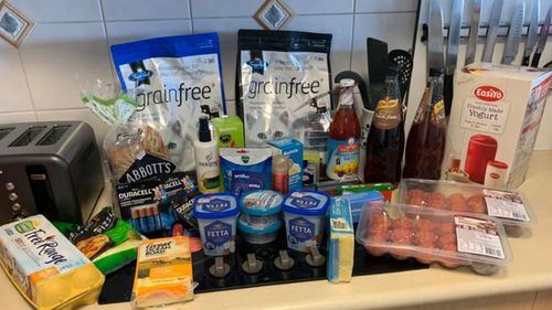 One Coles shopper paid just  $67 for this online order.