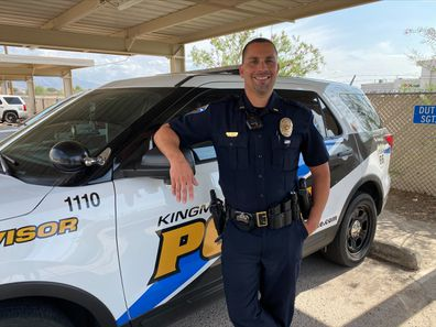 Police officer Brian Zach