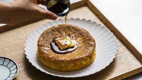 Funwari hottokeki Japanese soufflé hotcakes