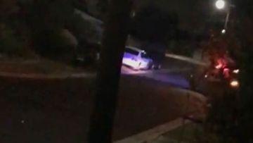 'Shut up d---head': Police corner an alleged street gangster