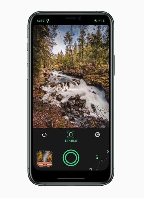 The Spectre camera app