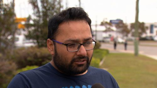Uber driver Raman Bharjwad told 9News he dropped his car to Ray's business in 2017 after an accident. but is yet to get it back.