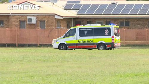 A man is in hospital with life-threatening injuries following a shooting incident. (9NEWS)