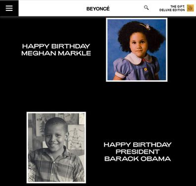Meghan Markle and Barack Obama