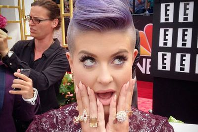 @kellyosbourne: Obsessed with my Gold #beladora jewelry provided by @lovegoldlive