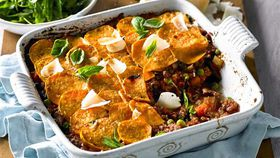 Middle Eastern style cottage pie