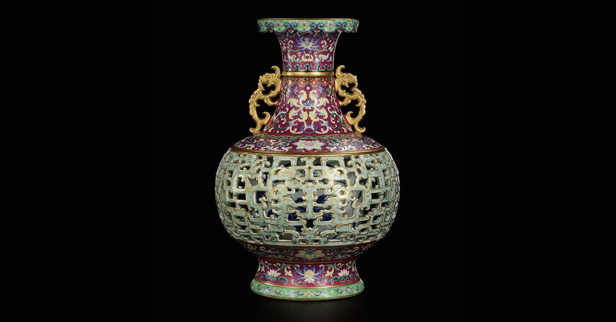 Rare Chinese vase once sold for $80 auctioned for more than $30 million – 9News