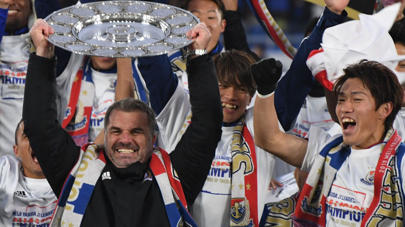 Ange Postecoglou backs himself for success anywhere after winning J-League title