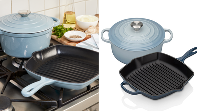 Coles launches designer dupe of cast iron cookware